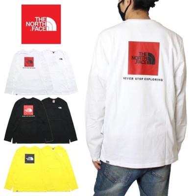 ノースフェイス THE NORTH FACE ロンT Tシャツ 長袖Tシャツ メンズ レディース ブランド おしゃれ L/S RED BOX TEE NF0A493L