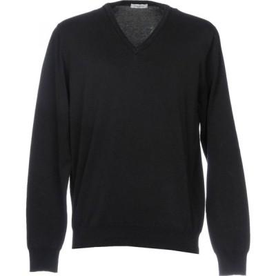 パオロ ペコラ PAOLO PECORA メンズ ニット・セーター トップス Sweater Black