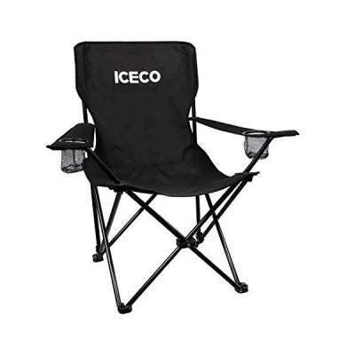 全国送料無料!ICECO Camping Chair for Adults, Portable Compact Folded Camp Chairs Ultralight with Carrying Bag Cup Holder, Strong Ste