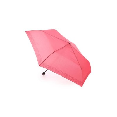 AURORA / La pioggia 無地すそ小花柄クイックオープンミニ折りたたみ傘 IO17411-11