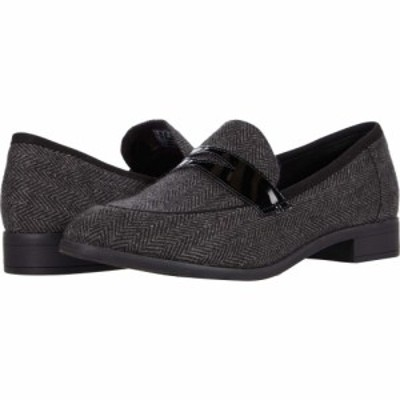 クラークス Clarks レディース シューズ・靴 Trish Rose Black Textile/Leather Combination