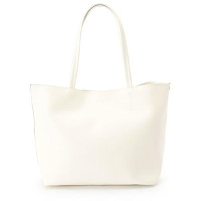 ◆レザーシンプルトートバッグ