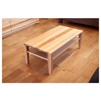 国産杉材のリビングテーブル