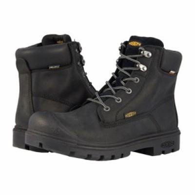 キーン ブーツ Baltimore 6 WP Steel Toe Black