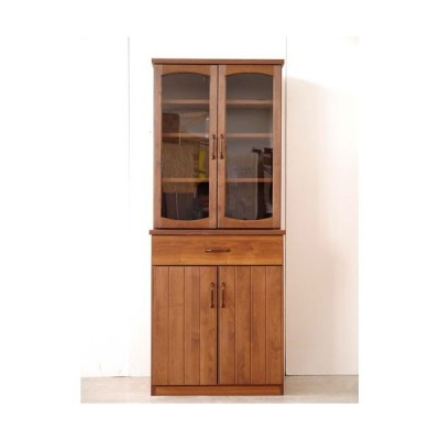 食器棚 幅71cm高さ175cm モント ga-mt-kc-070-na