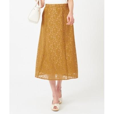 【エニィスィス/any SiS】 レースナローフレア スカート