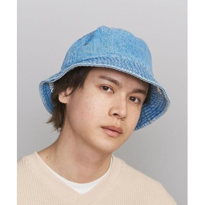 BEAUTY&YOUTH UNITED ARROWS / by プリント デニム バケットハット MEN 帽子 > ハット