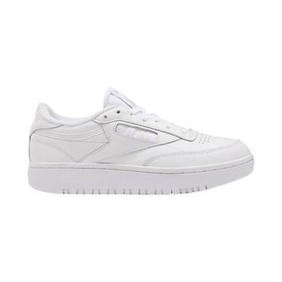 (取寄)リーボック レディース シューズ クラブ C 85 ダブル Reebok Women's Shoes Club C 85 Double White