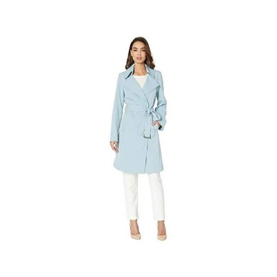 Vince Camuto Belted Trench V19722 レディース コート アウター Dusty Blue