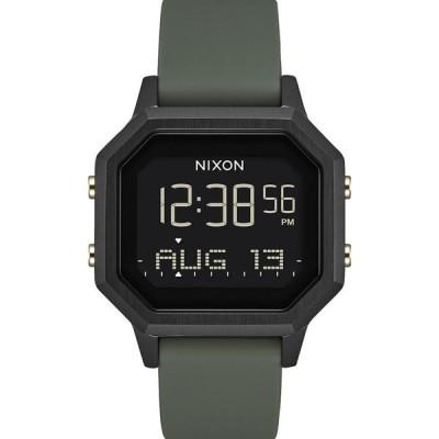 ニクソン NIXON レディース 腕時計 Siren Black & Fatigue Watch BLACK/FATIGUE