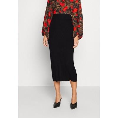 カフェ スカート レディース ボトムス LULU ASTRID SKIRT - Pencil skirt - black