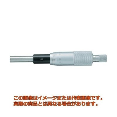 SK マイクロメータヘッド 測定範囲0〜25mm ストレート 1603000