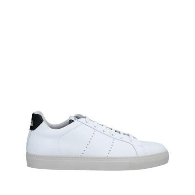 NATIONAL STANDARD スニーカー ファッション  メンズファッション  メンズシューズ、紳士靴  スニーカー ホワイト