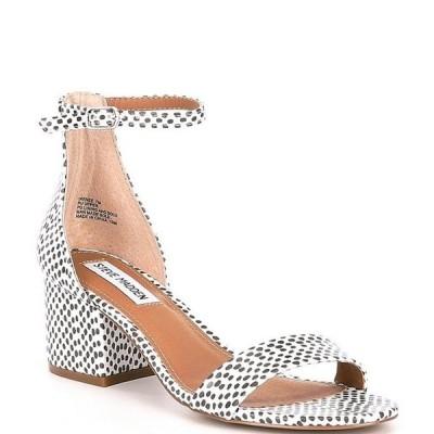スティーブ マデン レディース サンダル シューズ Irenee Spot Print Dress Sandals