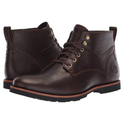ティンバーランド Timberland メンズ ブーツ チャッカブーツ シューズ・靴 Kendrick Waterproof Chukka Dark Brown Full Grain