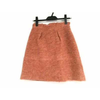 アプワイザーリッシェ Apuweiser-riche スカート サイズ1 S レディース オレンジ【中古】