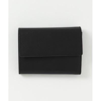 財布 牛革三つ折りミニ財布 / WAL-009【+】