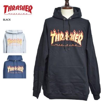 THRASHER スラッシャー FLAME HOOD パーカー フーディー トレーナー プルオーバー メンズ スウェット 長袖