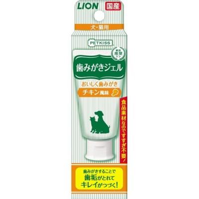 PETKISS(ペットキッス) 歯みがきジェル チキン風味 40g 4903351003989