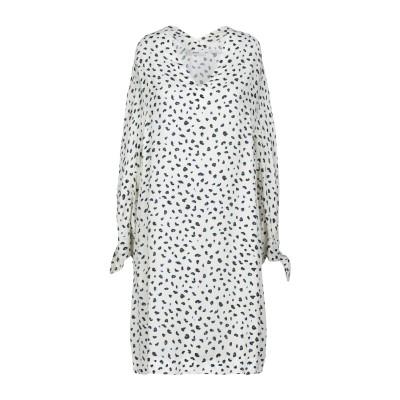 マウロ グリフォーニ MAURO GRIFONI ミニワンピース&ドレス ホワイト 38 レーヨン 100% ミニワンピース&ドレス