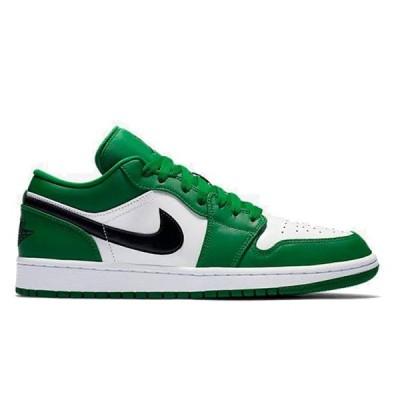 NIKE AIR JORDAN 1 LOW PINE GREEN/BLACK-WHITE