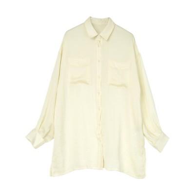ヴィンテージサテンシャツ
