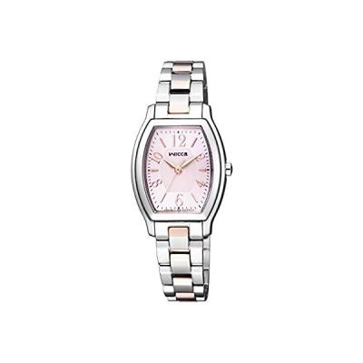 [シチズン]CITIZEN 腕時計 wicca ウィッカ ソーラーテック スタンダード トノー シンプルアジャスト KH8-730-93 レディース