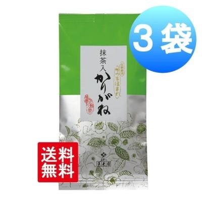 お茶 煎茶 鹿児島 抹茶入りかりがね 100g×3袋 煎茶 緑茶 かりがね茶 セット 美老園