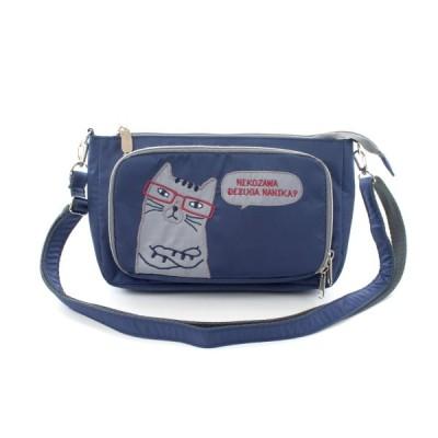 クスグルジャパン 継続 ネコまるけポリエステルシリーズ ネコまるけ財布ポシェット コン 20-3744 #2 おしゃれ 猫グッズ 雑貨