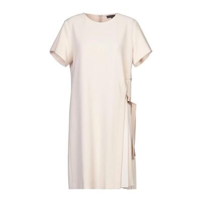 ANTONELLI ミニワンピース&ドレス アイボリー 46 ポリエステル 94% / ポリウレタン 6% ミニワンピース&ドレス