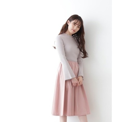 スカート ◇ボリュームシャインスカート