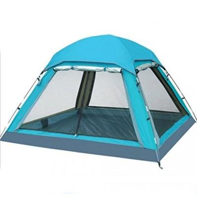 テント Jingzou Tents 3-4 people outdoor tents double multi person waterproof anti-UV camping tents camping tents 210210135cm