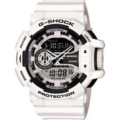 G-SHOCK CASIO カシオ Gショック メンズ 腕時計「Hyper Colors]アナデジ ホワイト GA-400-7AJF 国内モデル