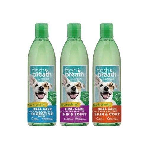 鮮呼吸 Fresh breath 潔牙水 + (美膚、消化、髖關節) 33.8oz/罐 寵物日常口腔衛生保健