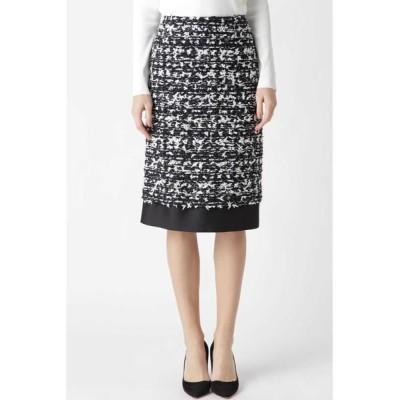 ADORE/アドーア 《BLACK LABEL》MALHIAツィードスカート ブラック 36