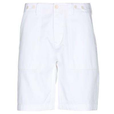 TELA GENOVA バミューダパンツ ホワイト 31 コットン 100% バミューダパンツ