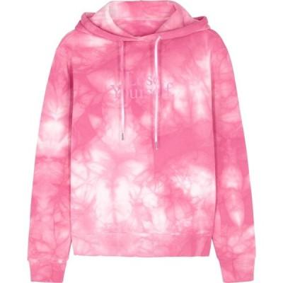 パコラバンヌ Paco Rabanne レディース スウェット・トレーナー トップス X Peter Saville Tie-Dyed Cotton Sweatshirt Pink