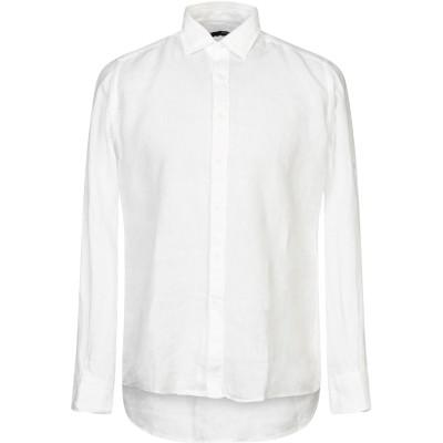 タケシ クロサワ TAKESHY KUROSAWA シャツ ホワイト S 麻 100% シャツ
