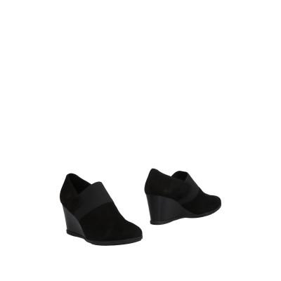 ジェオックス GEOX アンクルブーツ ブラック 41 山羊革 / 紡績繊維 アンクルブーツ