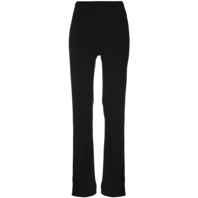 ROSSOPURO パンツ ブラック S レーヨン 100% パンツ