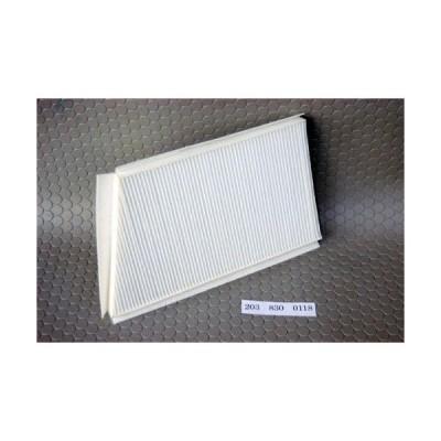 ベンツ Cクラス W203/CLKクラス W209用エアコンフィルター 右ハンドル (花粉、エアコン臭に効果あり)