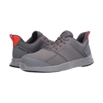 Reebok Work リーボック メンズ 男性用 シューズ 靴 スニーカー 運動靴 Astroride Strike - Gray