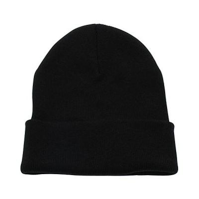 Top Level ユニセックス ビーニー カフ 無地 スカル ニット帽 トボガンキャップ US サイズ: One Size カラー: