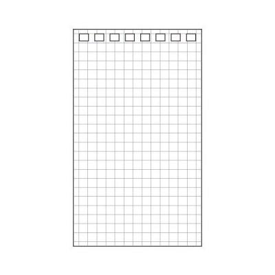 (まとめ) リヒトラブ AQUA DROPsツイストノート(メモサイズ) 専用リーフ 120×71mm 8穴 5mm方眼罫 N-1660S1パック(40枚) 〔×50セット〕