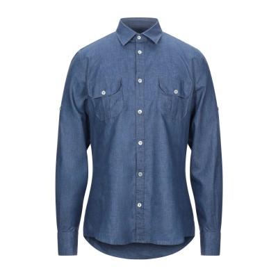 ローダ RODA シャツ ブルー 42 リネン 100% シャツ