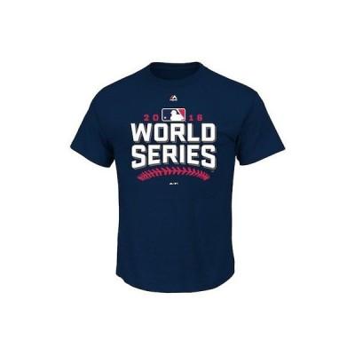 野球 MLB マジェスティック Majestic MLB Navy 2016 World Series T-Shirt
