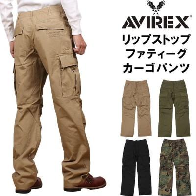 AVIREX アビレックス リップストップ ファティーグ パンツ ミリタリー カーゴ アヴィレックス 6176084