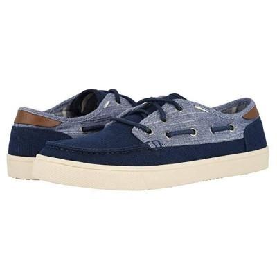TOMS Dorado メンズ スニーカー 靴 シューズ Navy Heritage Canvas/Rugged Chambray Mix