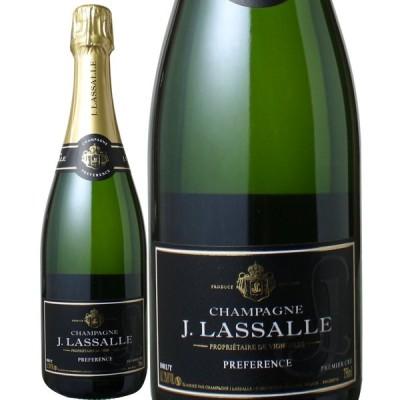 ワイン シャンパン J・ラサール ブリュット・プレファレンス NV 白 wine