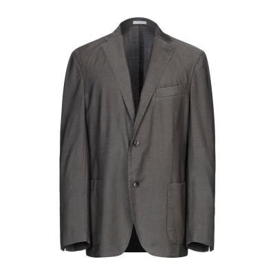 ボリオリ BOGLIOLI テーラードジャケット カーキ 52 バージンウール 85% / シルク 13% / ポリウレタン 2% テーラードジャケ